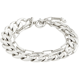 10211-6002 Compass Silver Plated Bracelet